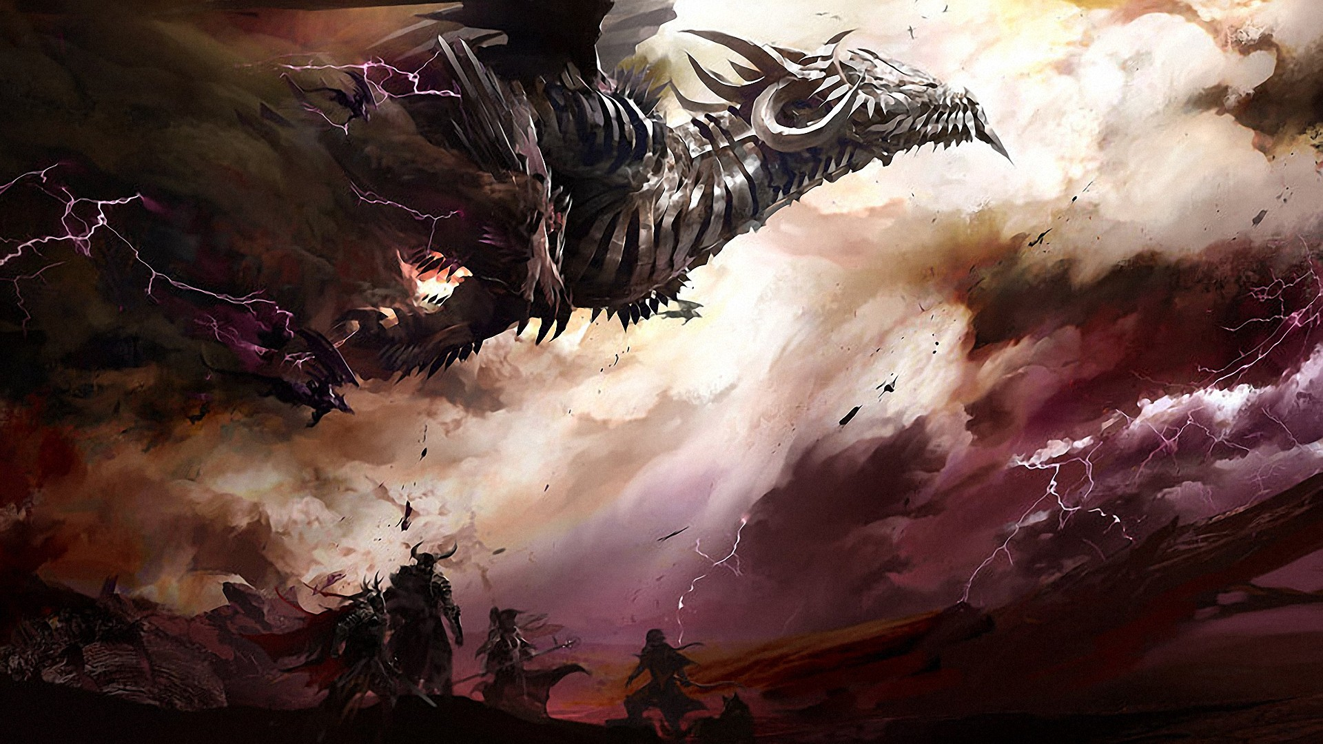 Guild Wars 2 Dragon wallpaper   1195962 1920x1080