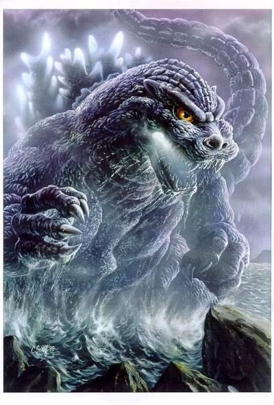 cool godzilla   Godzilla Photo 7438530 400x591