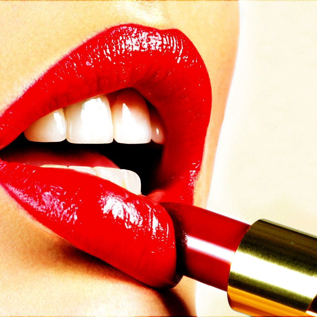 I love the red red lipstick Lapices de labios de color rojo 1024x1024