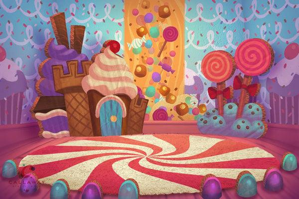 Images Of Candyland Background Wallpaper