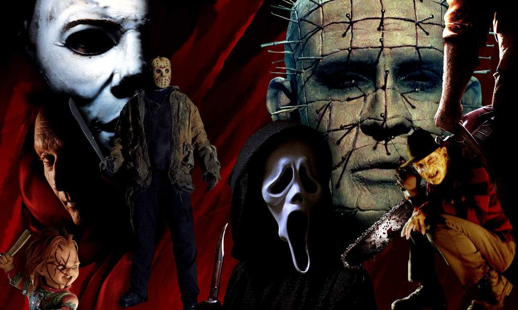 Horror Movie Killers Wallpaper Horror movie wallpaper by 1024x614