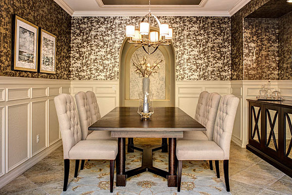 20 Eye Catching Wallpapered Rooms