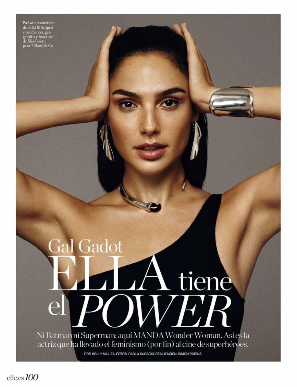 Gal Gadot   Elle Magazine Spain January 2018 1024x1333