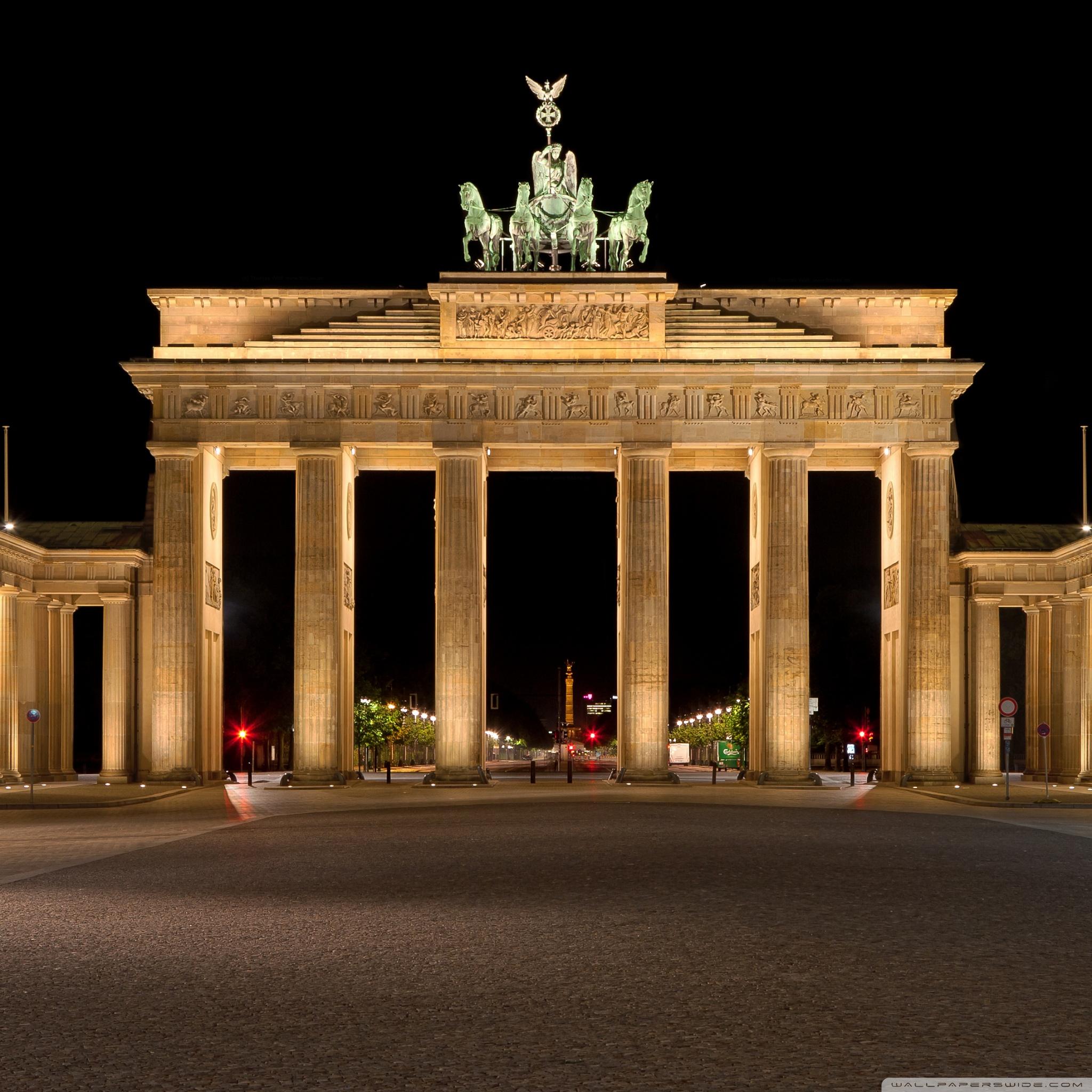 Brandenburg Gate 4K HD Desktop Wallpaper for 4K Ultra HD TV 2048x2048