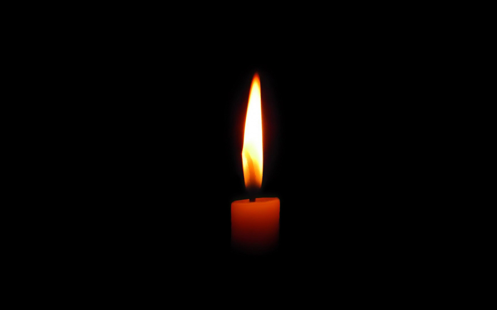 Candle wallpaper 11797 1680x1050