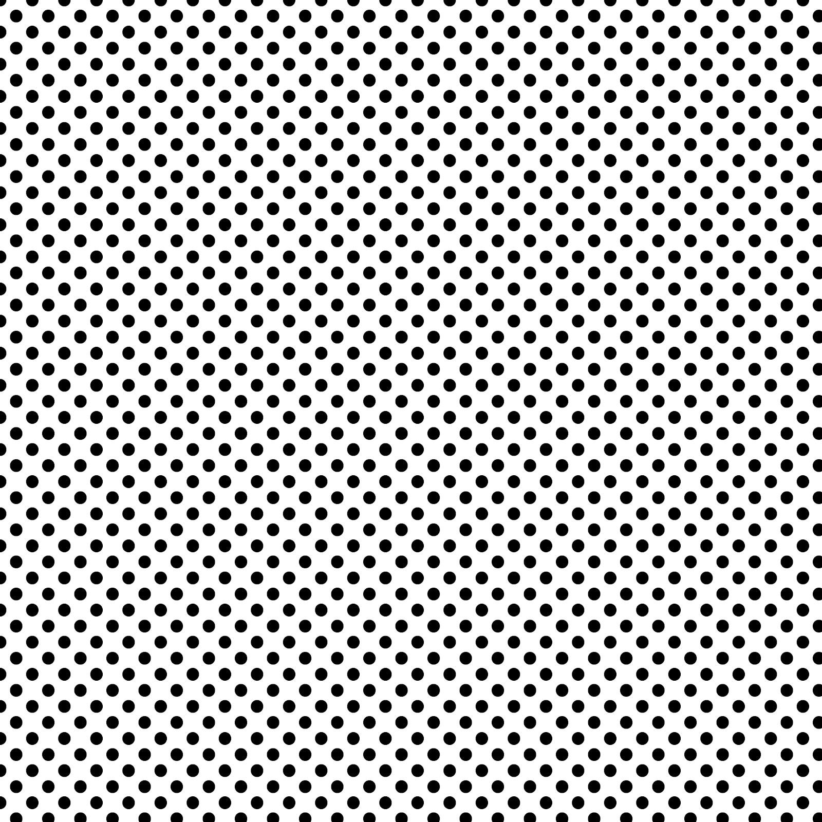 Stampin DAmour FREE Digi Scrapbook Paper   Black White Polka Dots 1600x1600