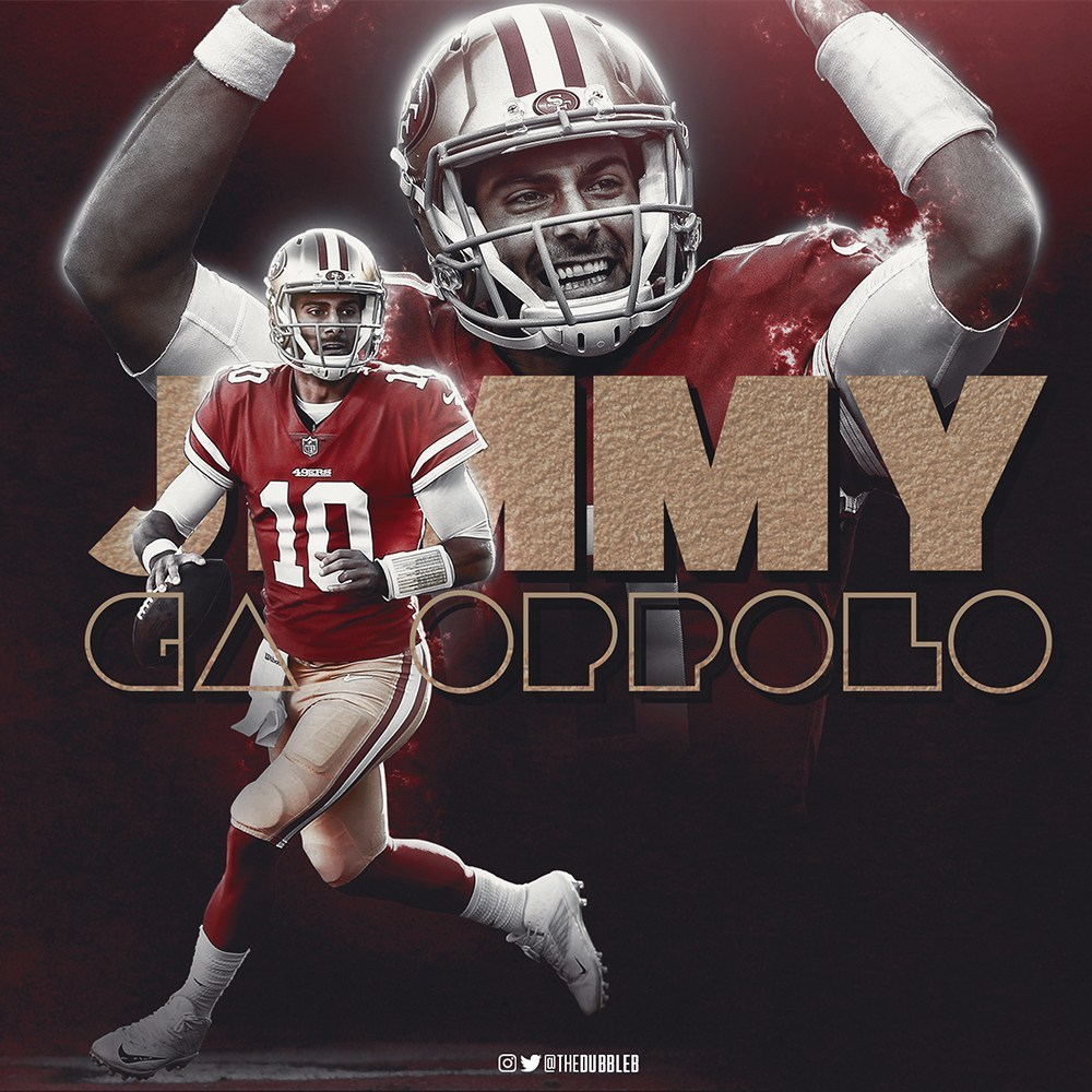 Jimmy Garoppolo San Francisco 49ers Wallpaper The Pick 6 1000x1000