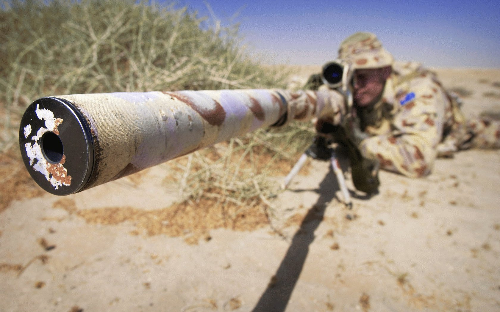 Sniper Wallpapers Desert Sniper HD Wallpapers Desert Sniper 1680x1050
