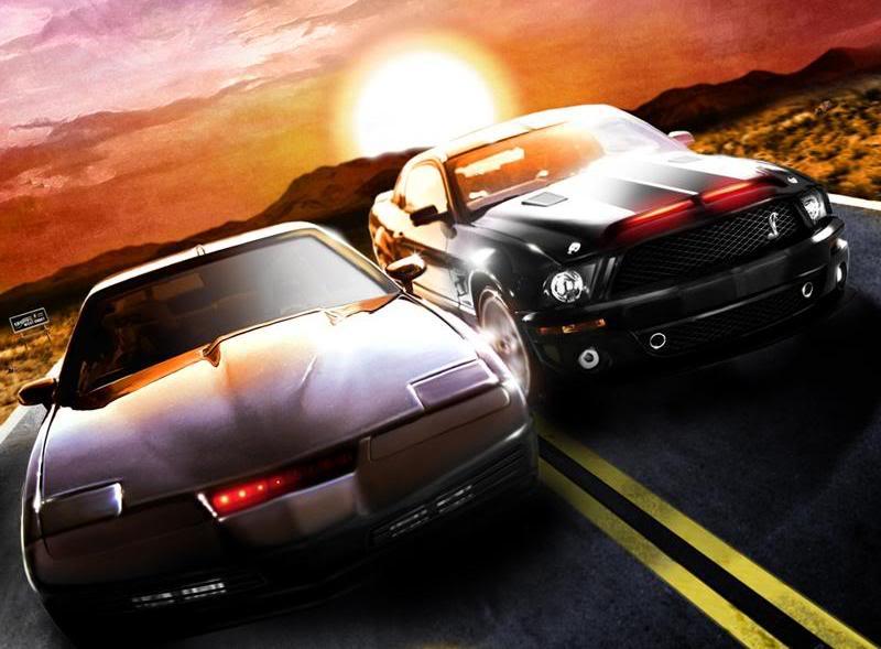 Knight Rider en Knight Rider 2008 800x589