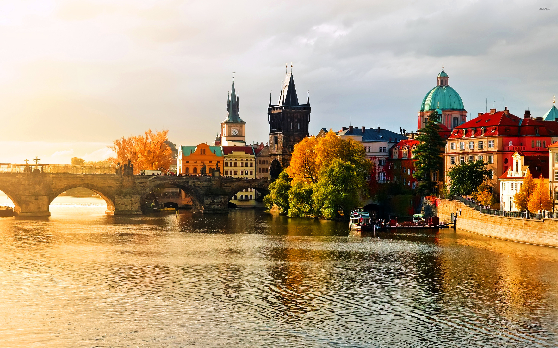 Prague Wallpaper HD 2880x1800