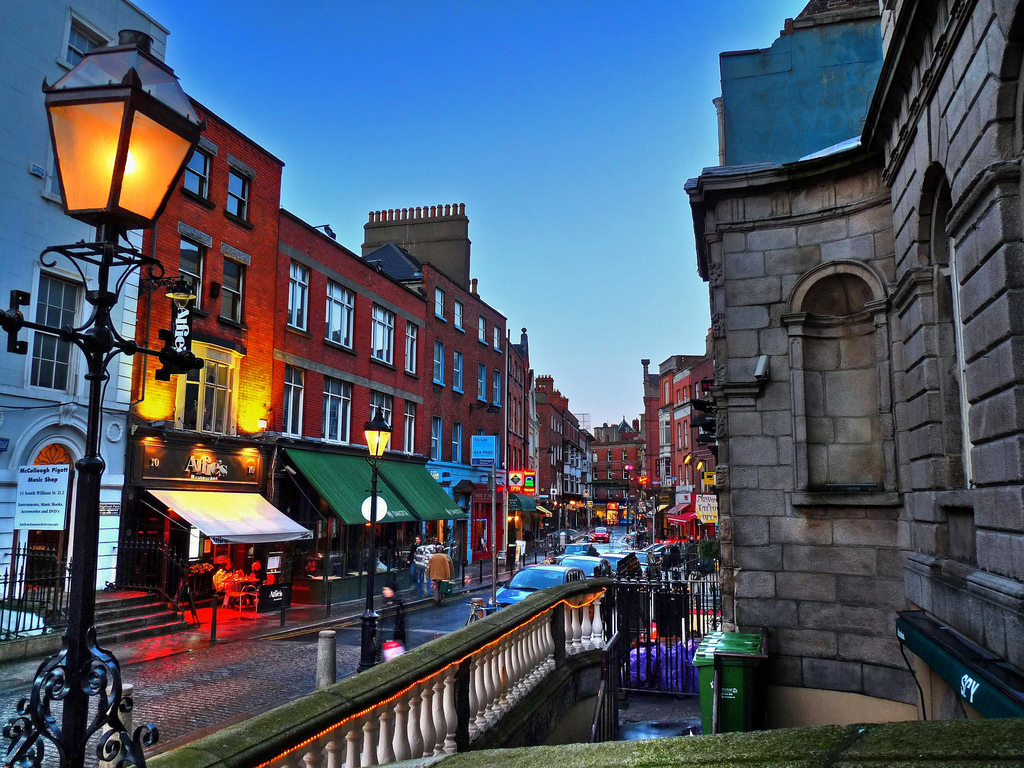 Dublin ireland desktop wallpapers 1024x768