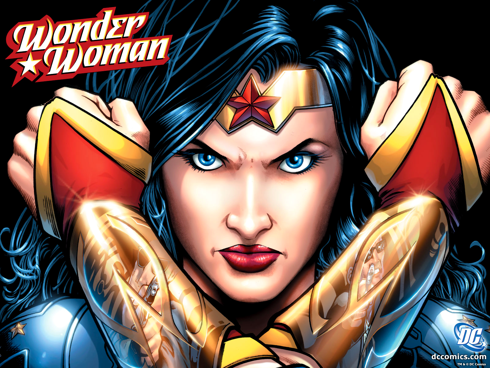 Wonder Woman WW DC Comics HD Wallpaper Download Wallpapers in HD 1600x1200