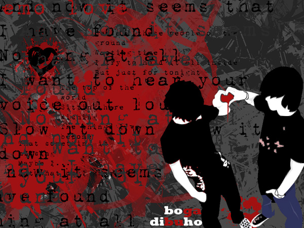 Emo Love Wallpaper In Hd : Emo Love Wallpaper - WallpaperSafari