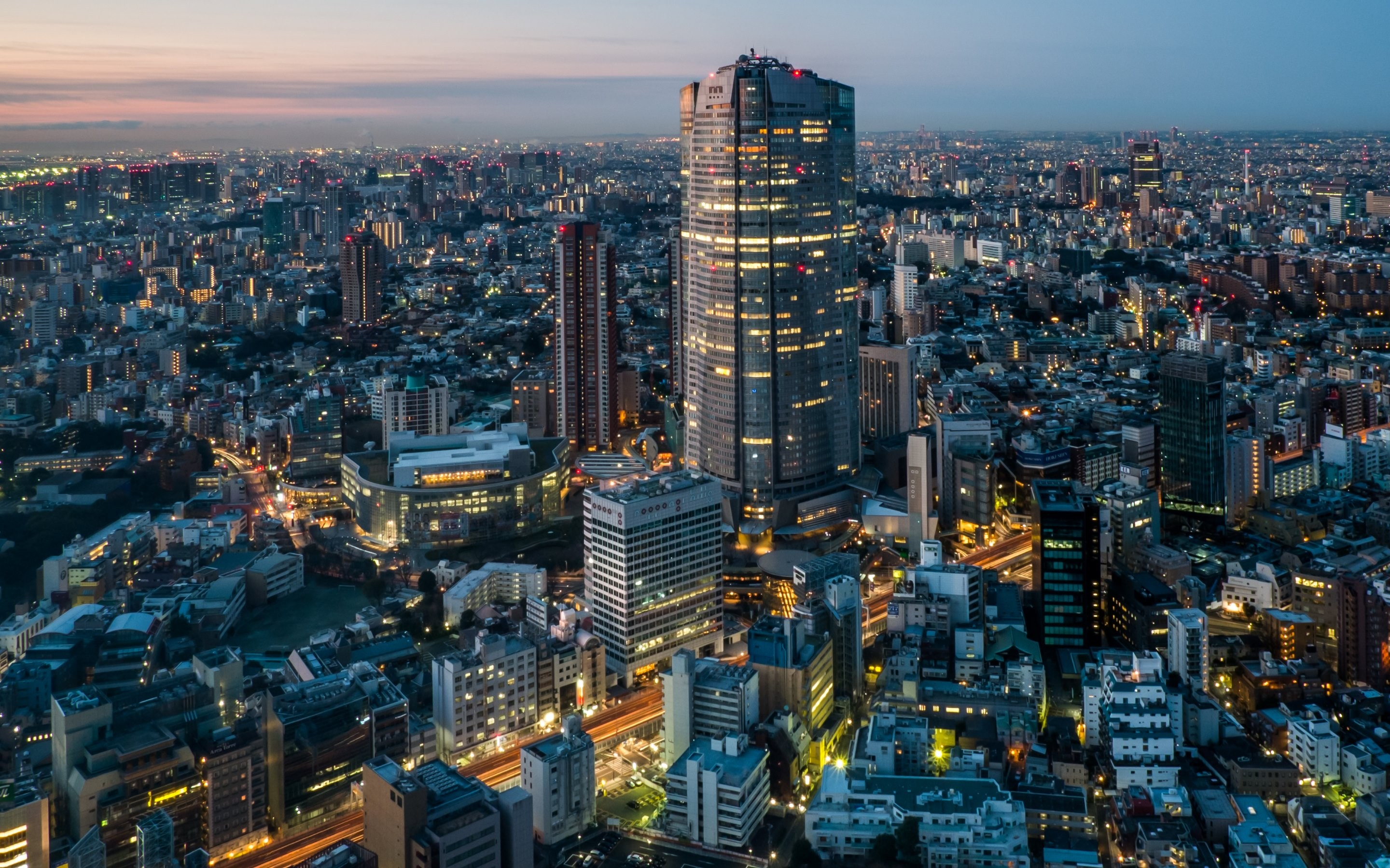 Tokyo City Night HD Wallpapers   New HD Wallpapers 2880x1800