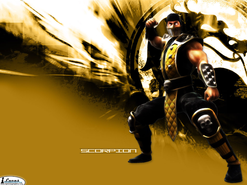 Mortal Kombat Scorpion Wallpaper by m r x 1024x768