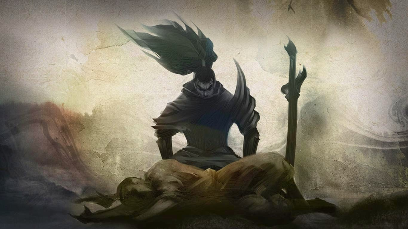 Yasuo Desktop Backgrounds Yasuo LOL Champion Wallpapers 1366x768