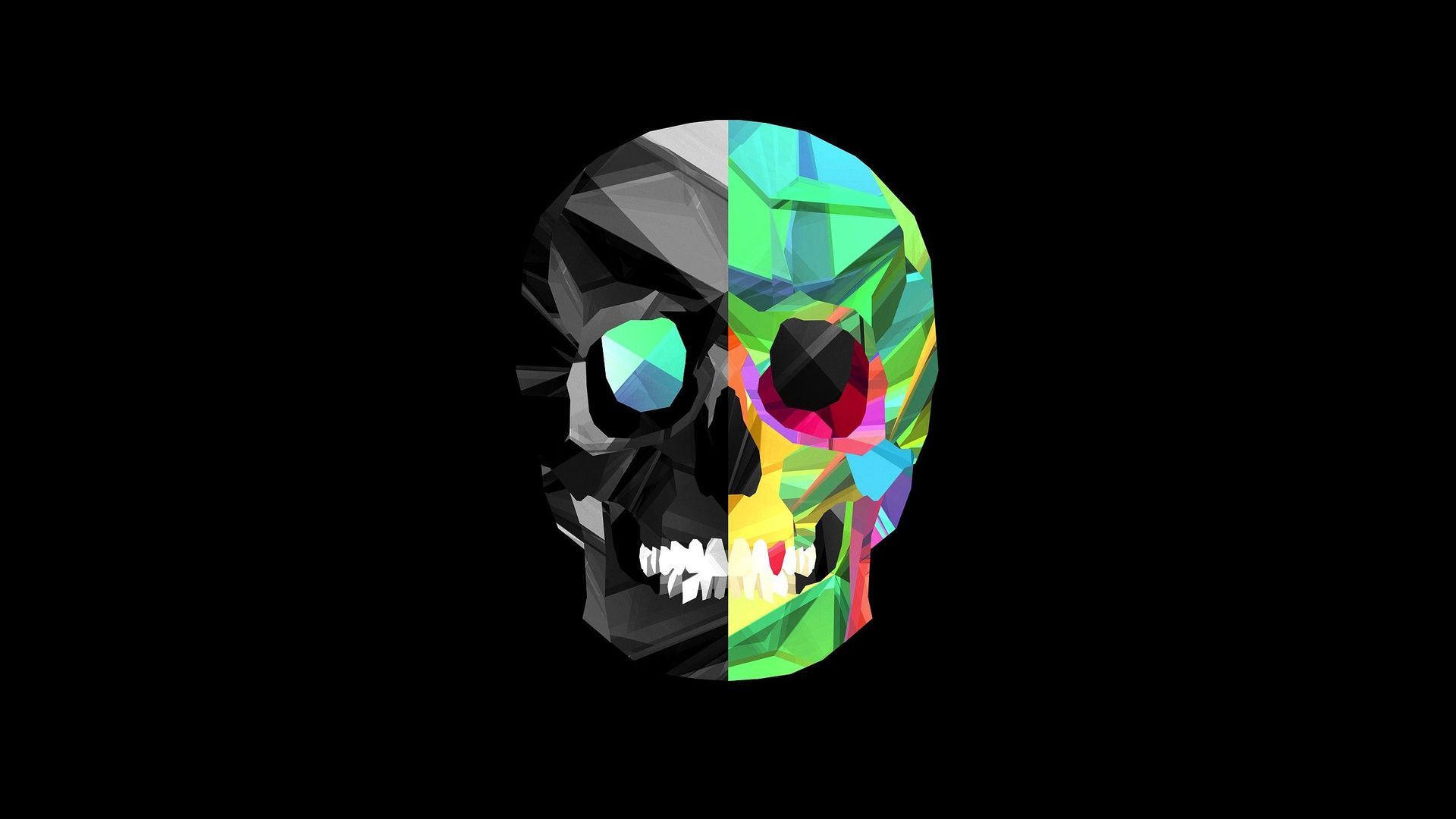 cool skull wallpapers HD 1920x1080