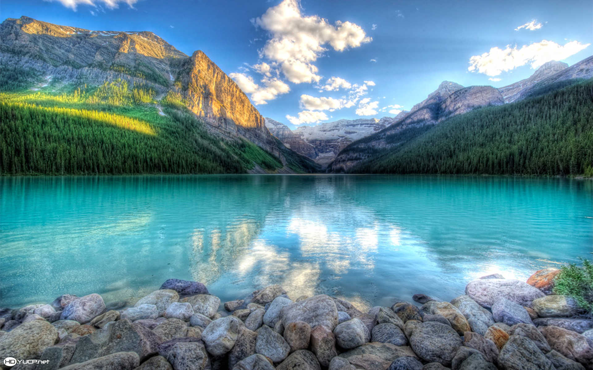 Lake Louise Canada Wallpaper iBackgroundWallpaper 1920x1200