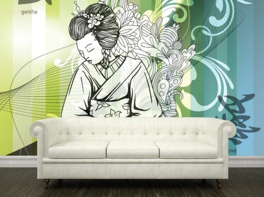 japanese wallpaper murals wallpapersafarimural decor japanese wallpaper mural interior ideas 525x393