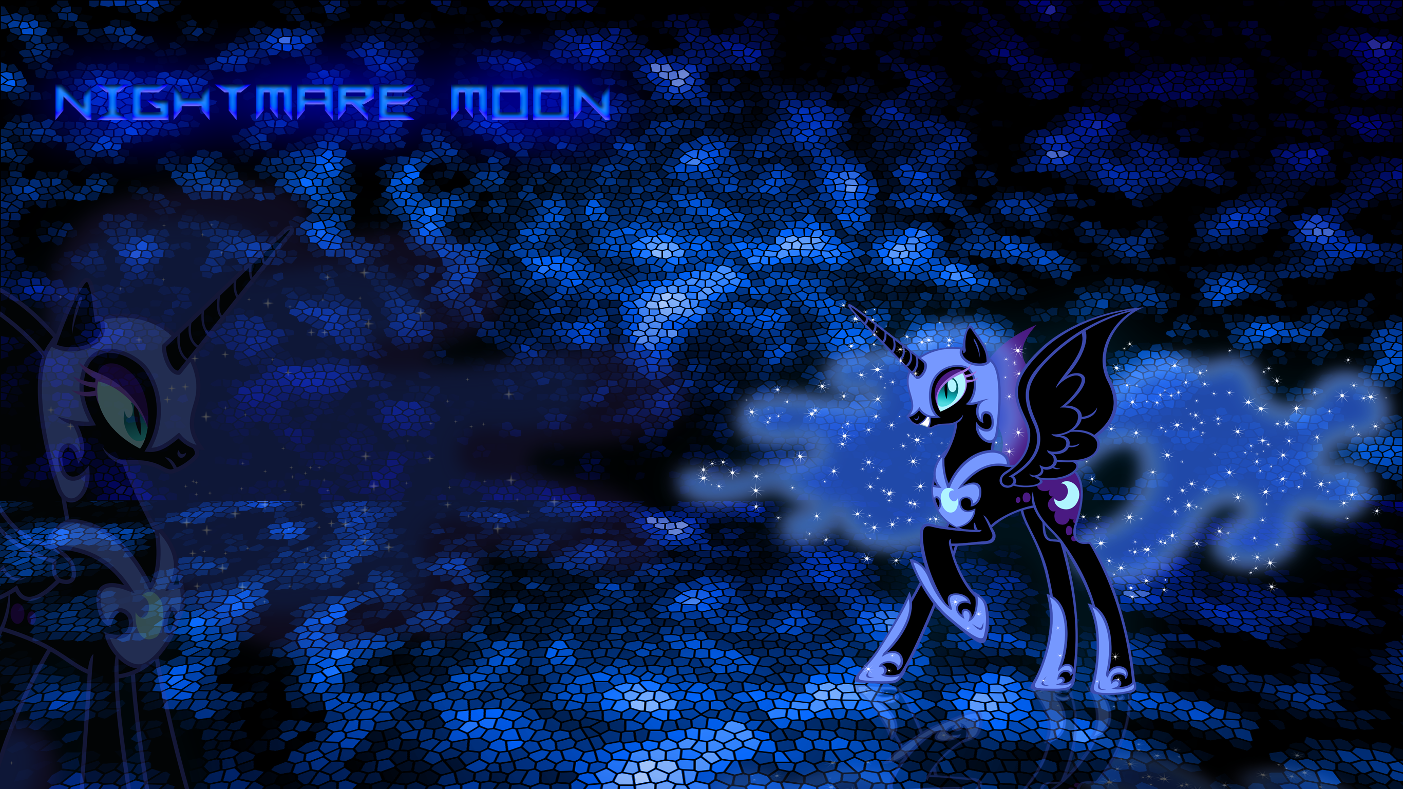 Nightmare Moon wallpaper by JamesG2498 2732x1536