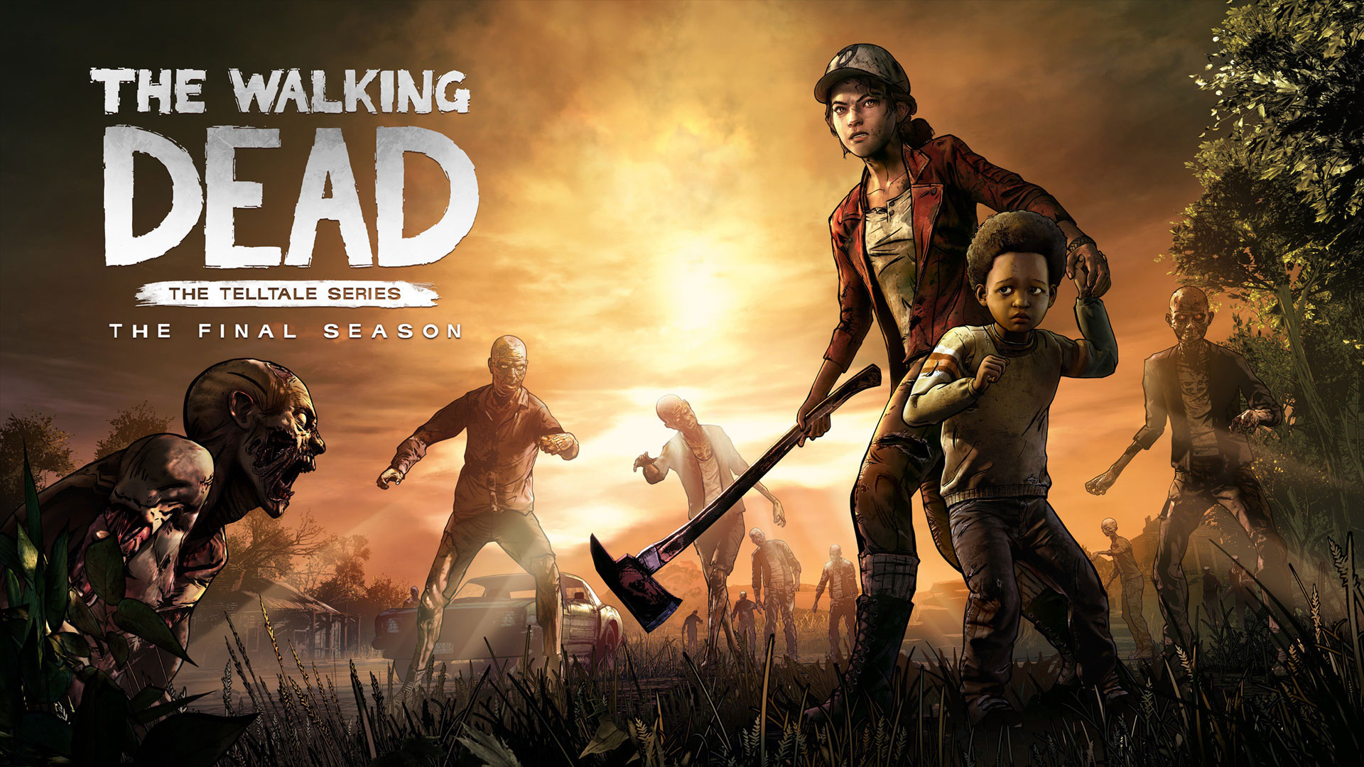 The last chapter Wallpaper from The Walking Dead The Final 1920x1080