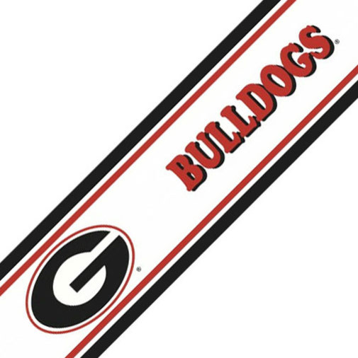 NCAA Georgia Bulldogs College Prepasted Wallpaper Border contemporary 505x506