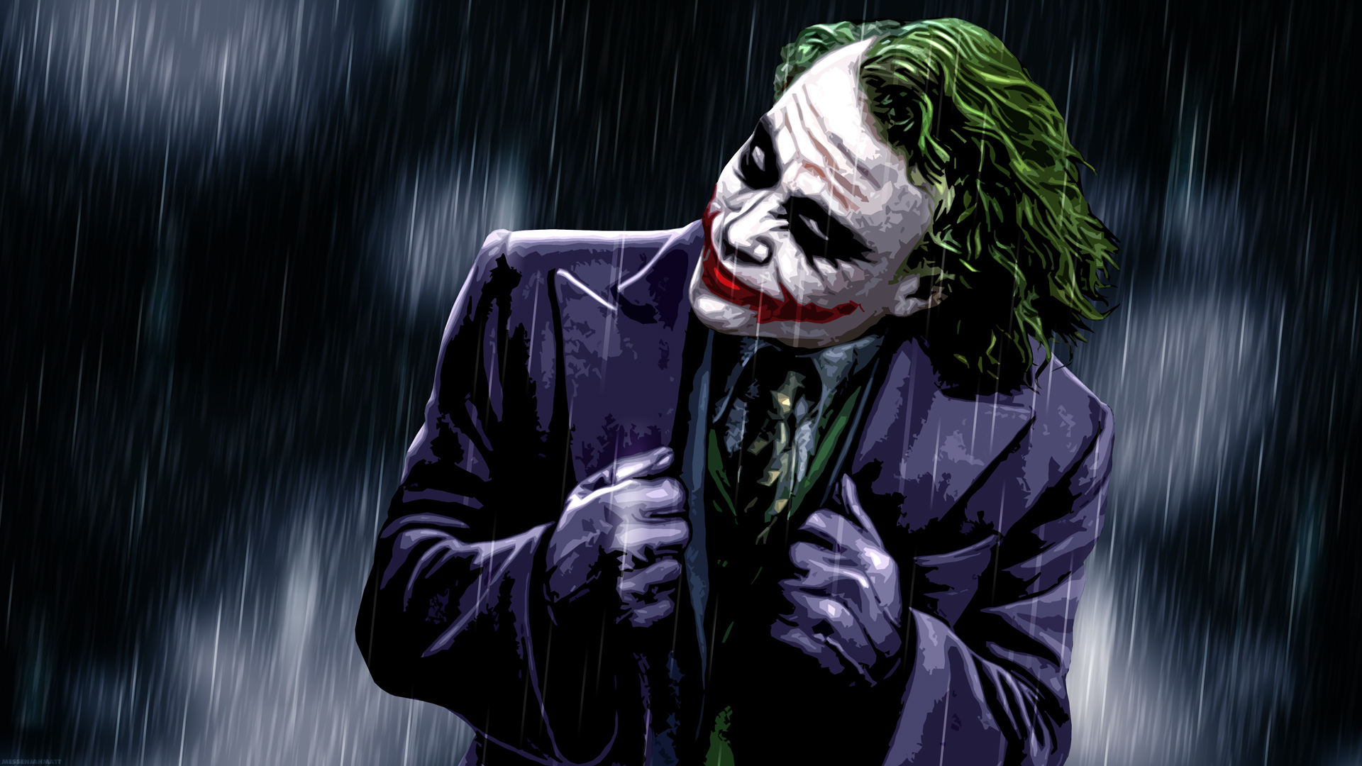 The Joker The Dark Knight Wallpaper 23437897 Fanpop 1920x1080