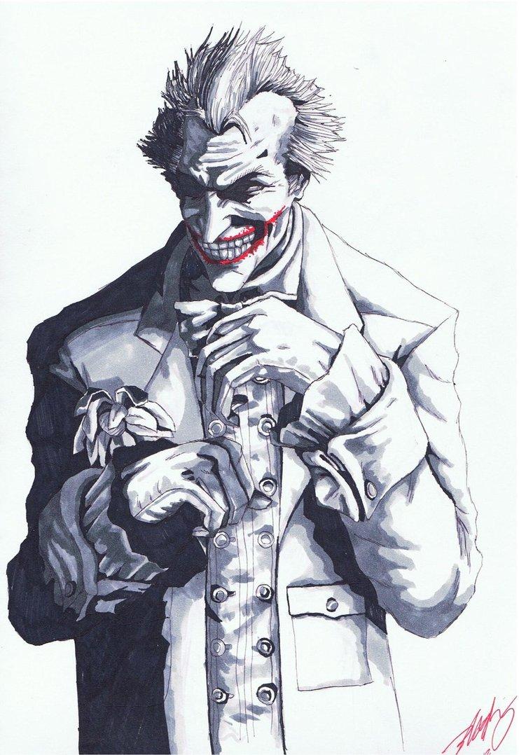 Joker Arkham City by greaperx666 741x1078