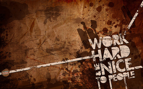 work hard grunge wallpaper 500x313