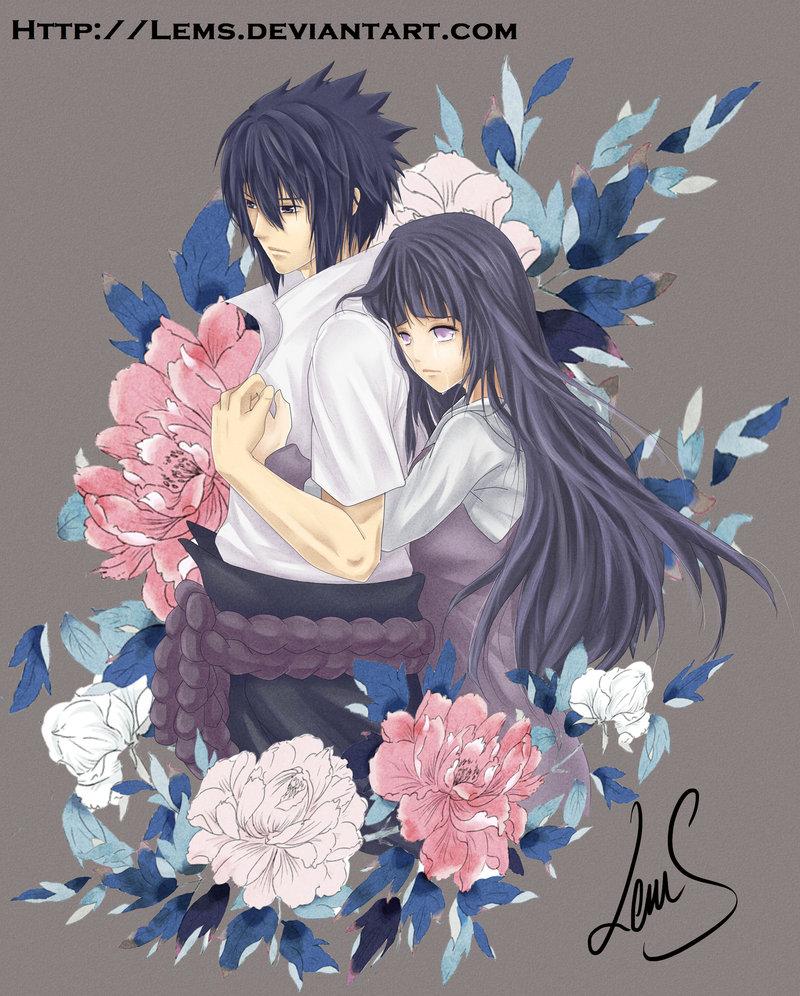 Sasuke and Hinata images Embrace HD wallpaper and background photos 800x996