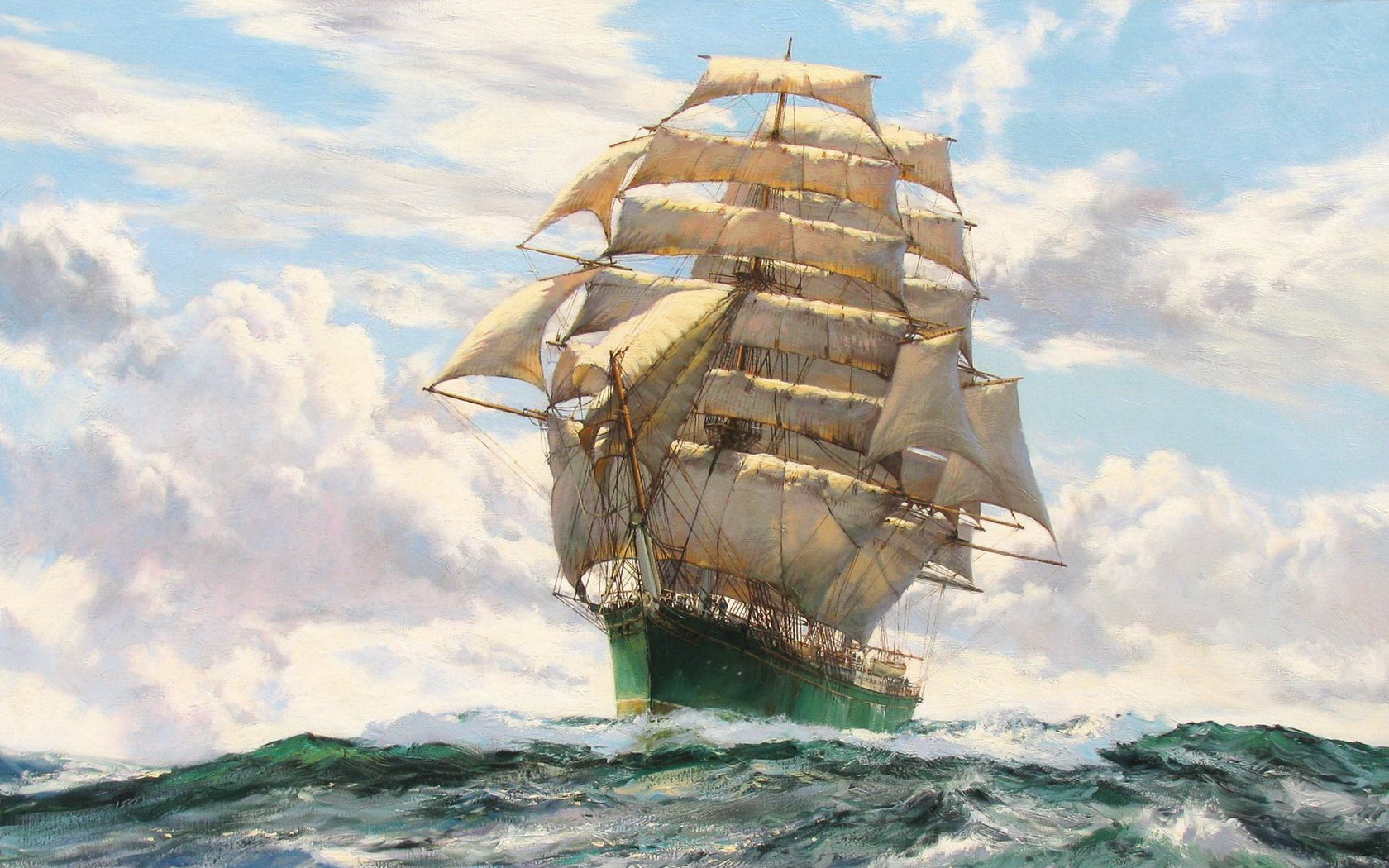 Sailing Ship Computer Wallpapers Desktop Backgrounds 1680x1050 ID 1680x1050