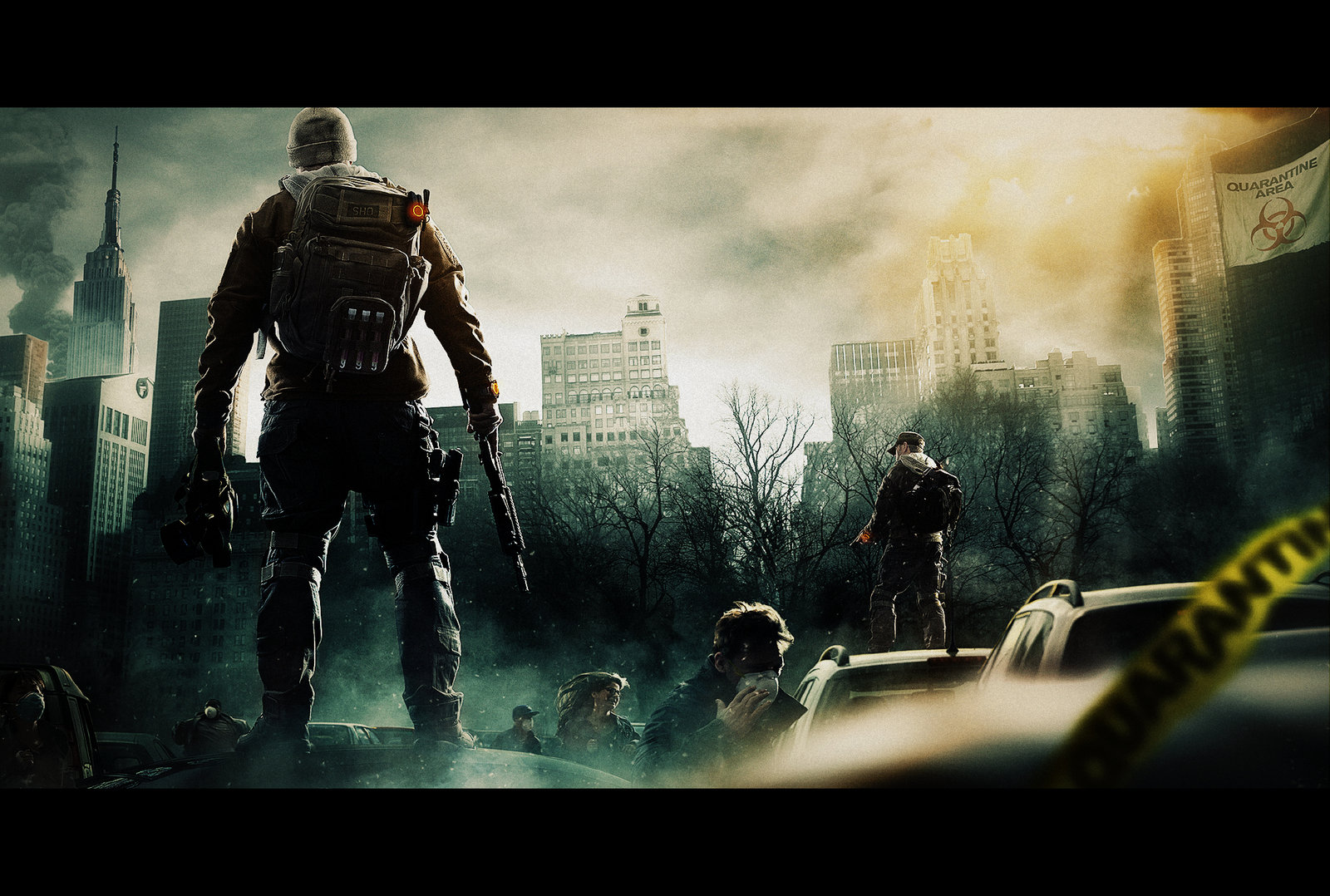Tom Clancys The Division HD Wallpaper RoyalWallpaperBiz 1600x1078