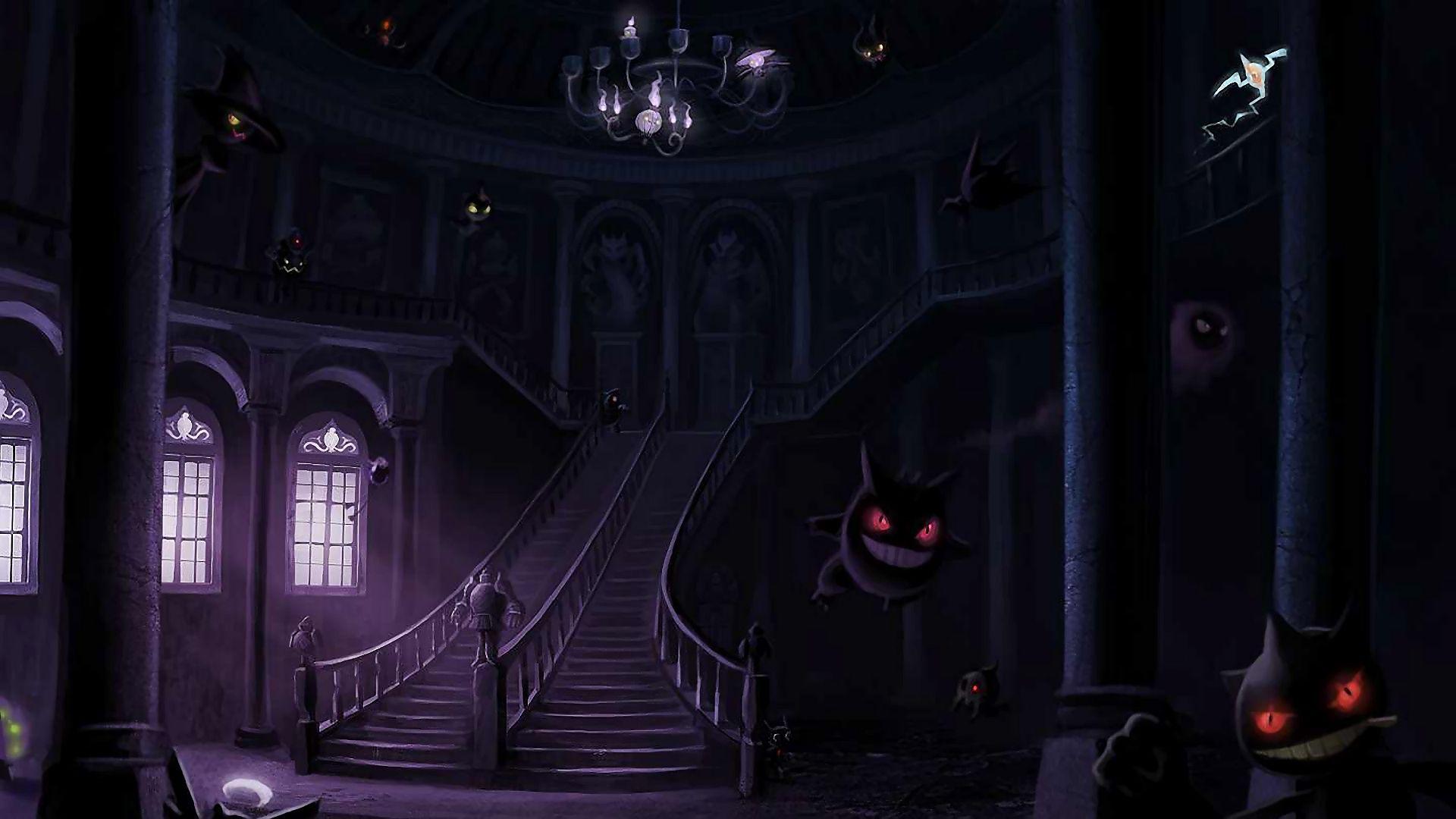 Ghost Pokemon wallpaper 14378 1920x1080