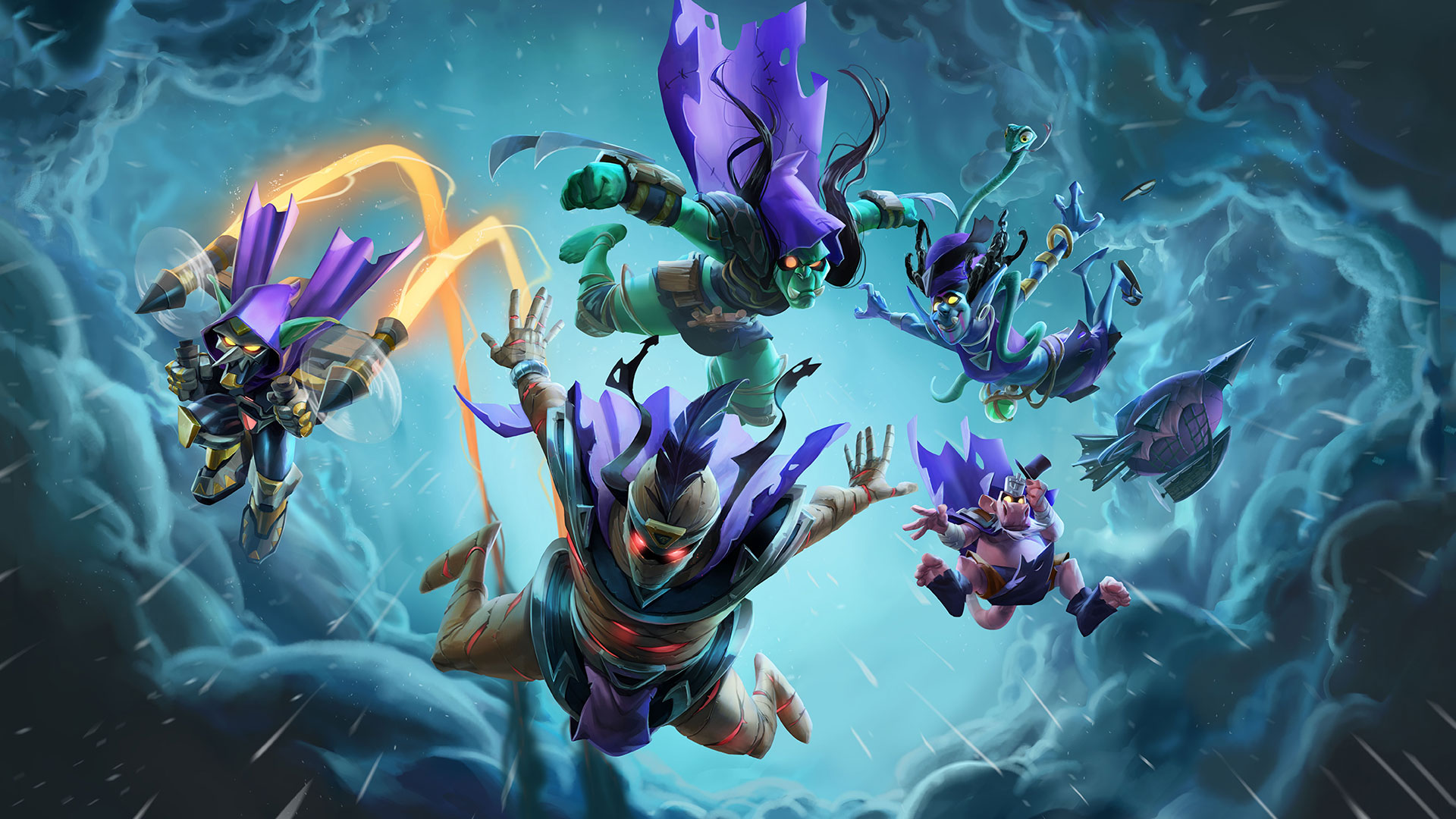 Hearthstone Rise of Shadows Wallpapers HD Mobile Desktop 1920x1080