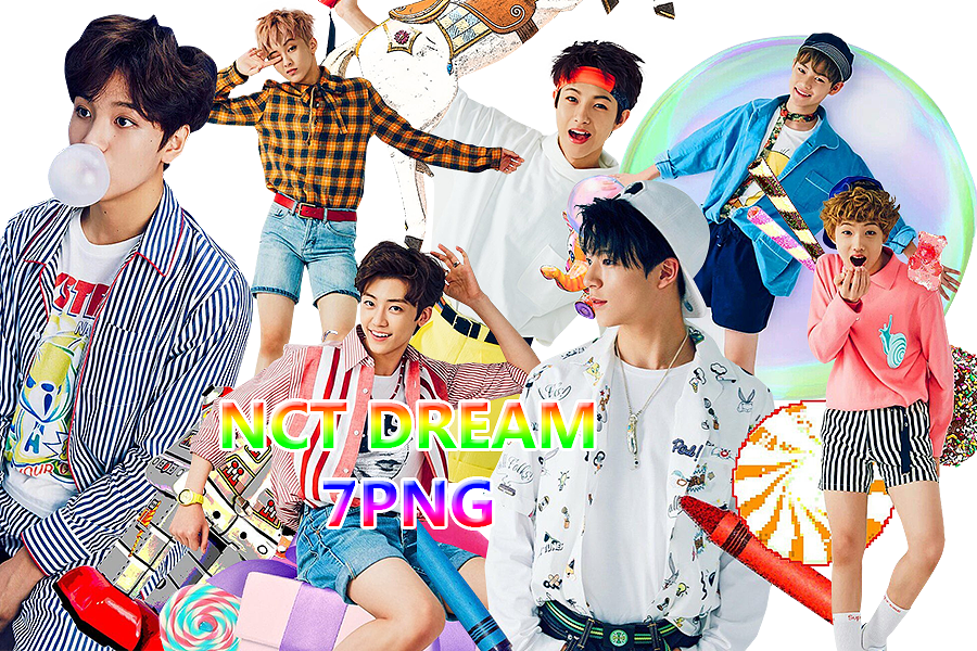 NCT DREAM PNG PACK Chewing Gum 2 by kamjong kai on 900x600
