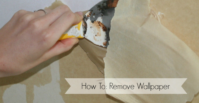 How To Remove Wallpaper   DIY   Nest of Bliss 650x337