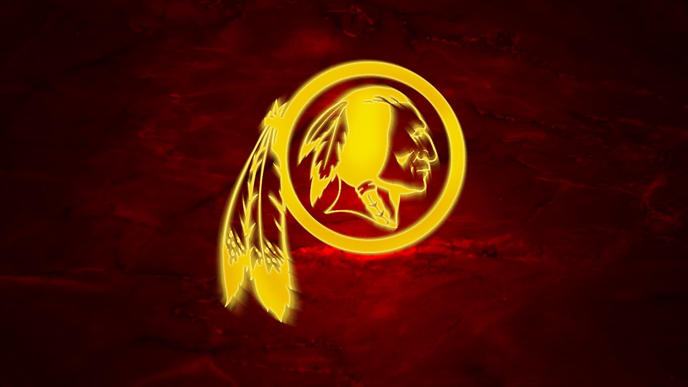 Redskins Logo Hd Wallpaper   1366x768 iWallHD   Wallpaper HD 1366x768