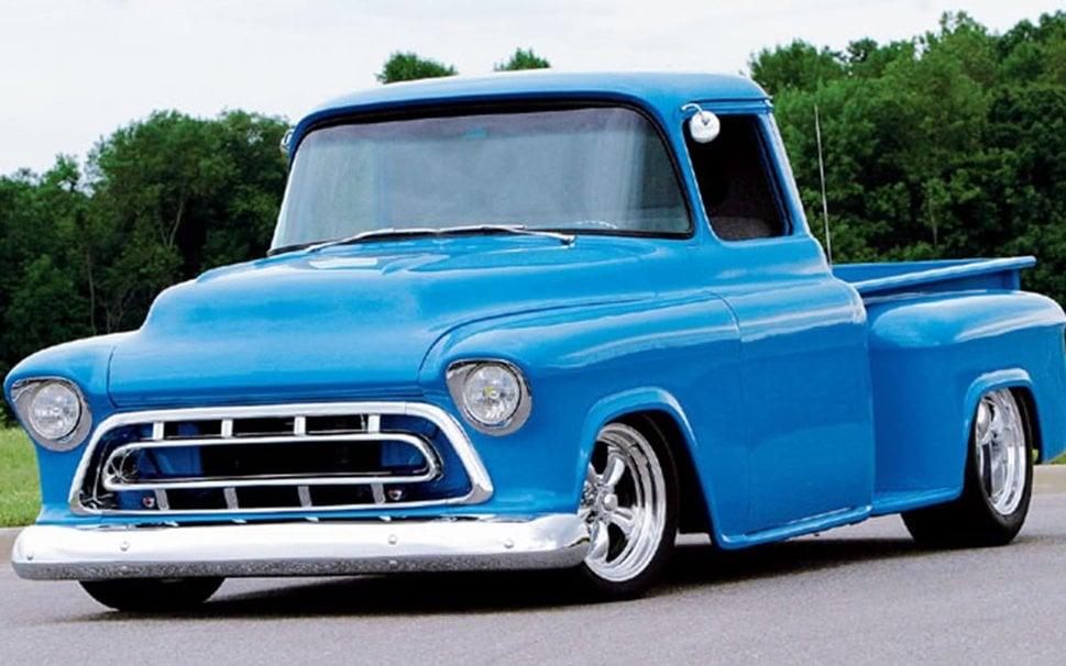 1957 Custom Chevy Pickup wallpaper   ForWallpapercom 969x606