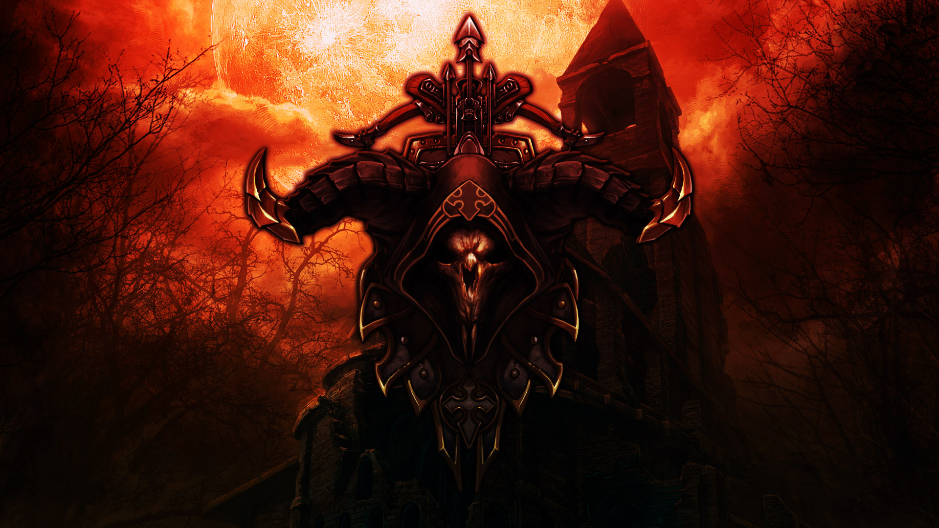 Free Download Computerspiel Diablo Iii Demon Hunter Wallpaper