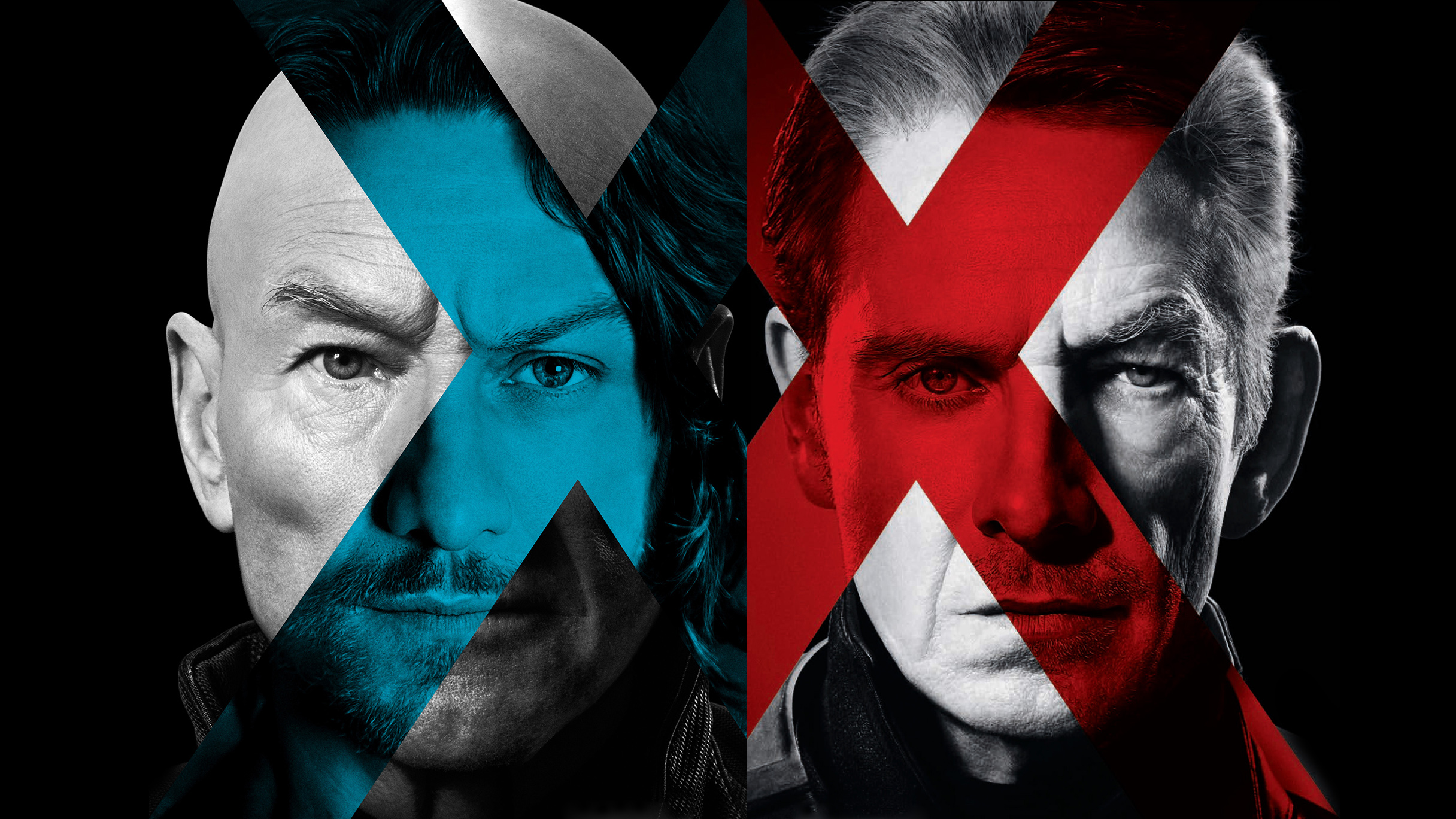 X Men Days Of Future Past two posters Movie Wallpapers 2432x1368