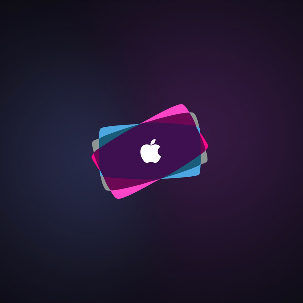 Wallpapers Cool apple logo   Apple iPad iPad 2 iPad mini Wallpapers 1024x1024