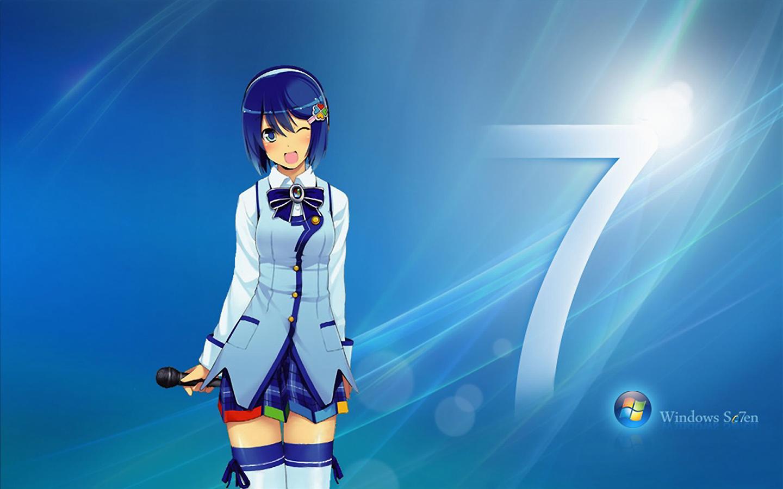 Windows 7 Madobe Nanami Os Tan 1440x900
