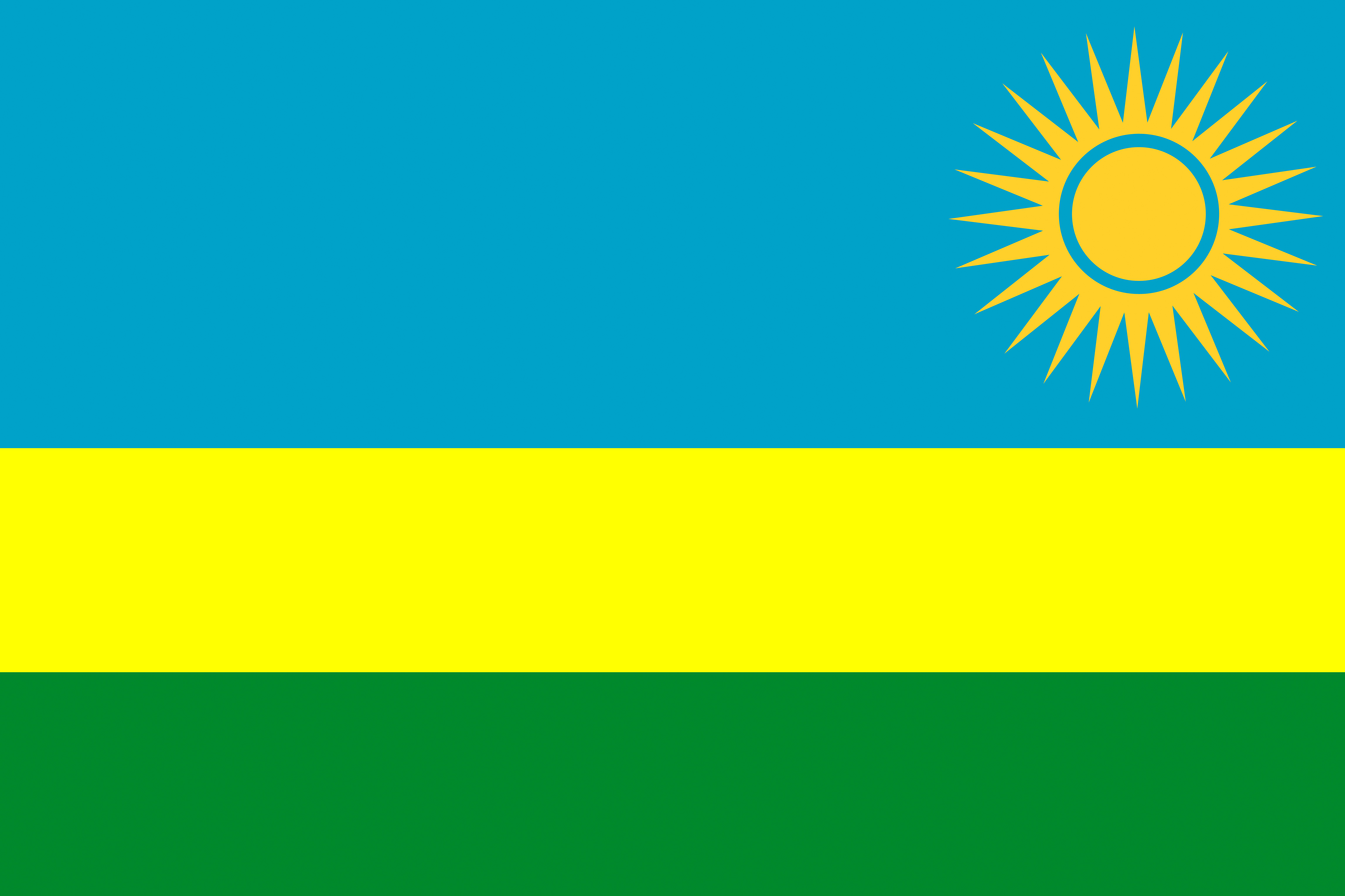 Picture Rwanda Flag Stripes 4591x3059 4591x3059