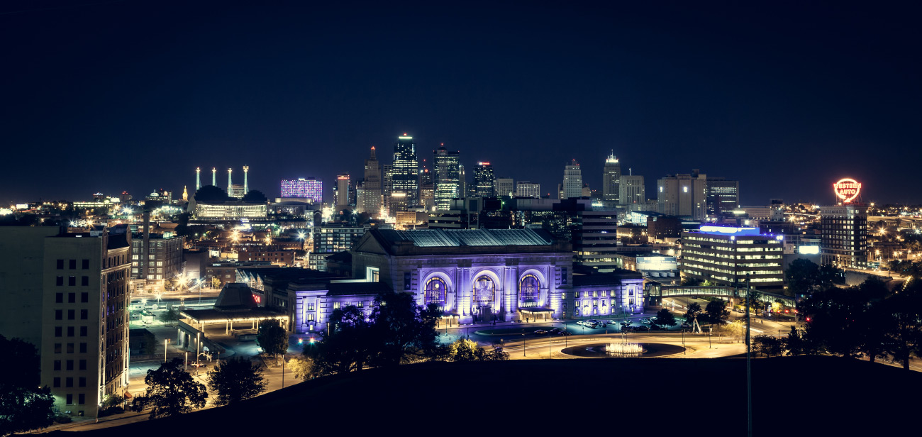 Downtown Kansas City Night