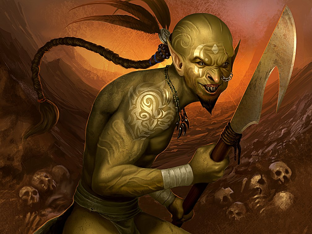 orc wallpaper image   Orc clan and Orks fantasy and monsters fan group 1008x756