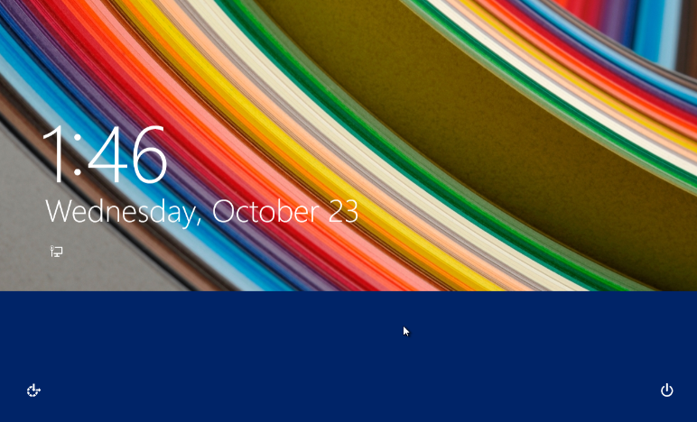 How to change the background image of the default Lock Screen and the 772x468