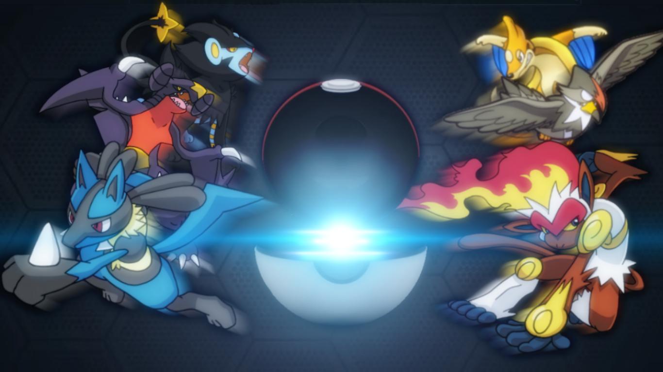 Pokemon team wallpaper wallpapersafari - Pokemon platine legendaire ...