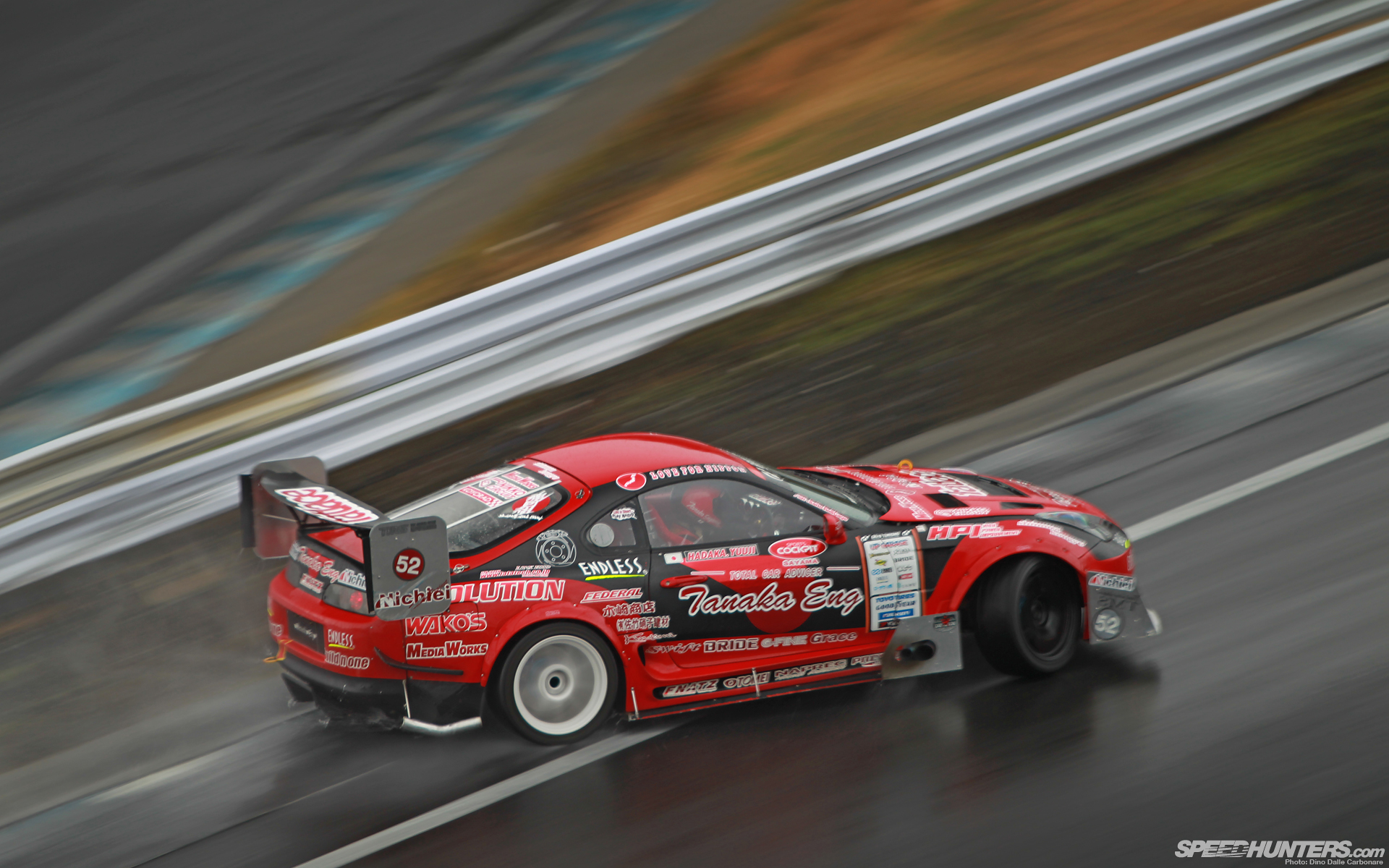 Toyota Supra Drift Motion Blur Wet wallpaper 1920x1200 70842 1920x1200