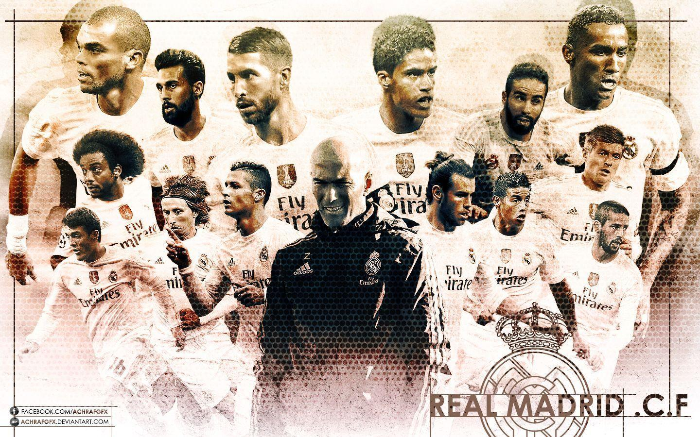 Real Madrid 2018 Wallpapers 1440x900