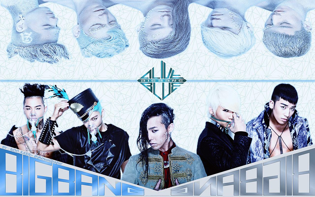 Free Download Big Bang Alive Poster Korean Group Kpop Hd